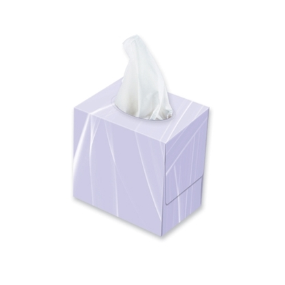 Picture of CLOUD SOFT 1125 [c/s 24] Cube Facial Tissues White